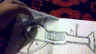 How to draw the ray gun