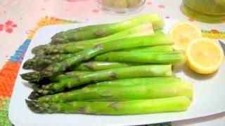 видео Рецепт приготовления зеленой спаржи в домашних условиях