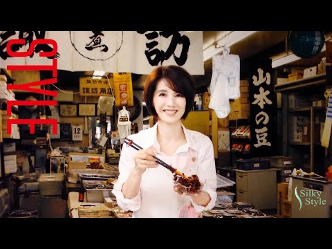 STYLE:築地場外市場 諏訪商店 女将 牧野美千子さん 特撮ドラマ『超電子バイオマン』で女優デビューし、雑誌のグラビアやテレビ歌手等で活動。