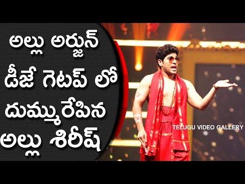 Allu Sirish In Allu Arjun DJ Duvvada Jagannadham Get Up In SIIMA Awards 2017 |  SIIMA Awards 2017