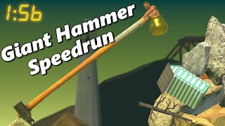 Giant Hammer World Record Speedrun In Under 2 Minutes