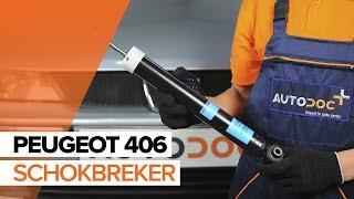 Hoe een Schokbreker achteraan vervangen op een PEUGEOT 406 HANDLEIDING   AUTODOC