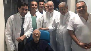 Beji Caïd Essebsi quitte l'hôpital
