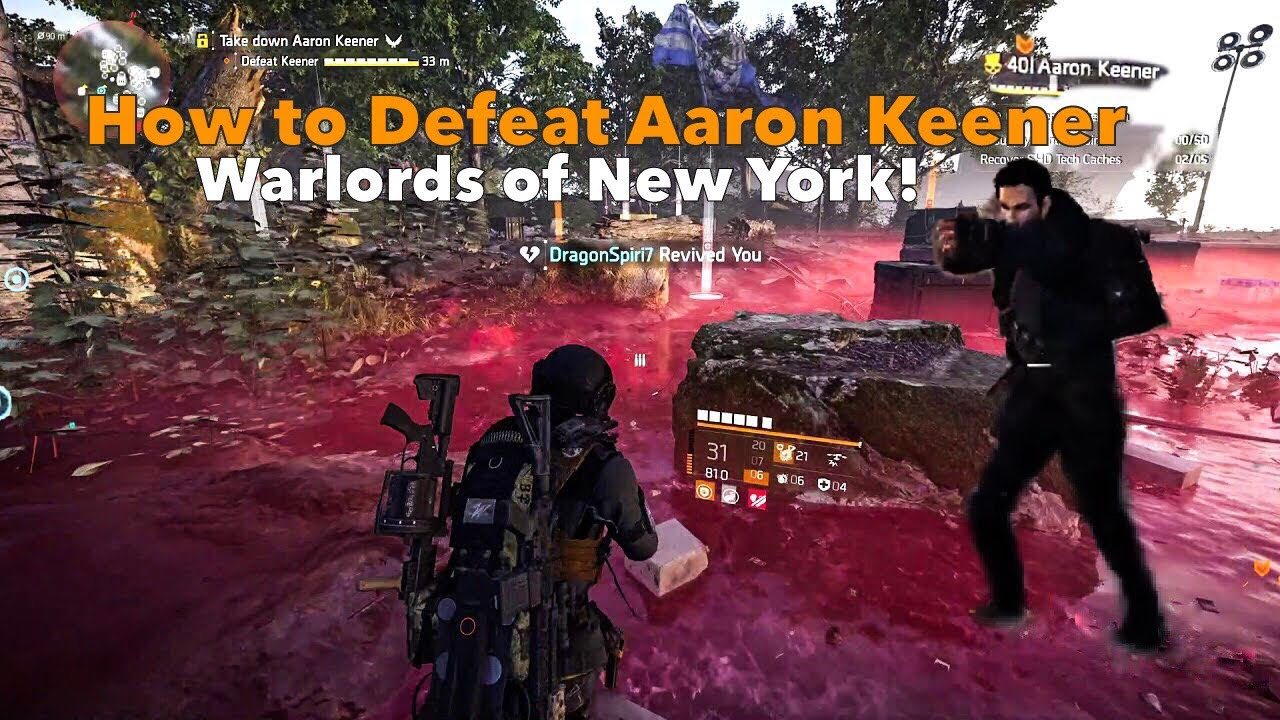 """How to Beat Aaron Keener! In """"Warlords of New York"""" The Division 2"""