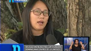 Postulación de Santo Domingo ante la Red de Ciudades Creativas UNESCO