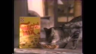 Meow Mix Commercial History (1974-Present)