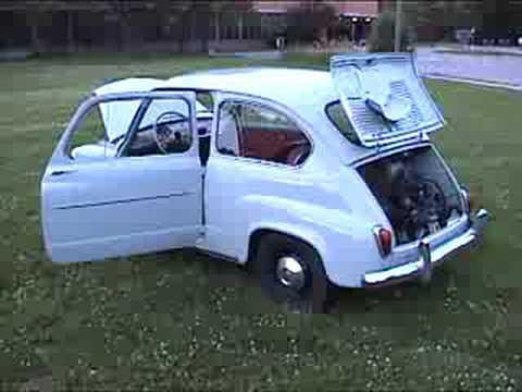 1959 Fiat 600 walk around - YouTube