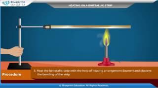 Heating a Bimetallic Strip
