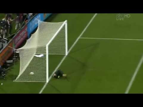Robert Green's Big Mistake/Clint Dempsey Goal - June 12 2010 - World Cup