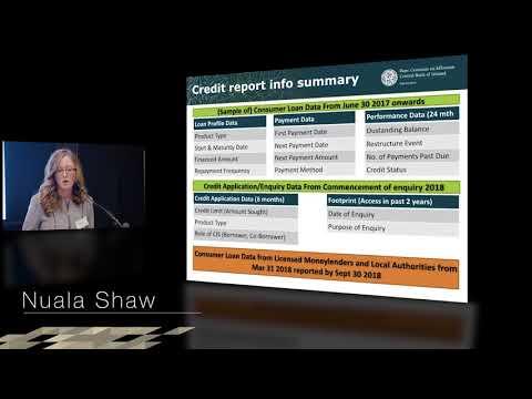 Nuala Shaw - 'Central Credit Register'