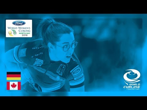 Germany v Canada - Round-robin - Ford World Women's Curling Championships 2018