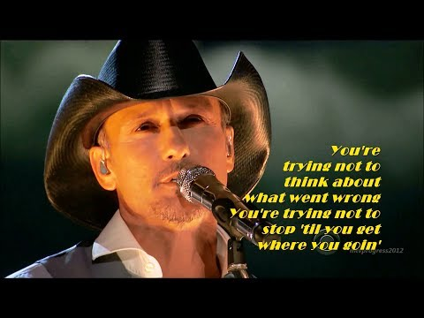 Tim McGraw - Highway Don't Care [ ft. Taylor Swift & Keith Urban ]( live 2013 )[ lyrics ]