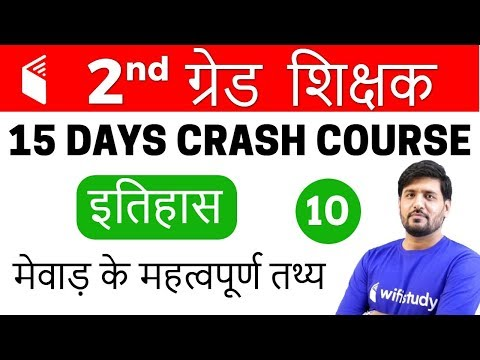 10:00 PM  2nd Grade Teacher 2018  History  Praveen Sir  Important Facts of Mewar