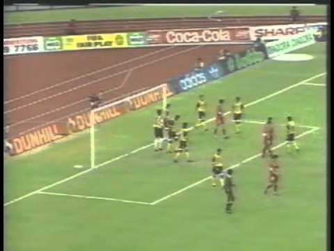 Singapore 4-0 Pahang [Full Match] 1st Half : Malaysia Cup Final 1994 Travel Video