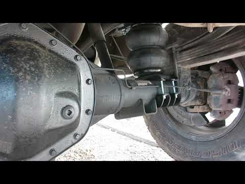 Rear Airbag Suspension Installation & Lessons Learned