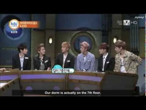Eng Sub 130826 Beatles Code EXO and Brown Eyed Girls Part 2