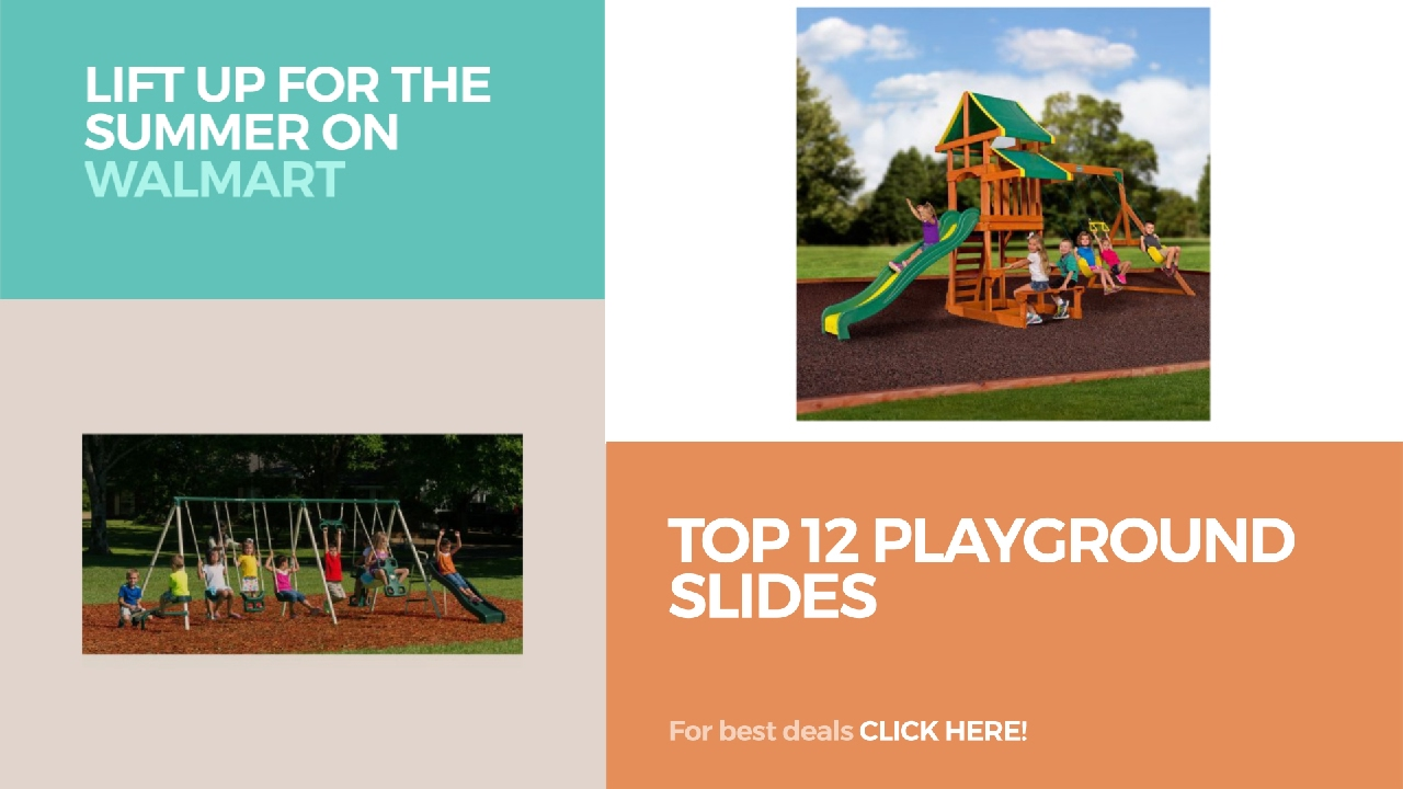 top 12 playground slides lift up for the summer on walmart youtube