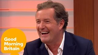 Piers Morgan Is Back On The GMB Sofa | Good Morning Britain
