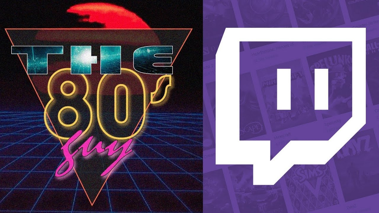 The 80's Guy Is Now On Twitch !!