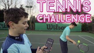 Tennis Ball Challenge - tennis Brothers vs Tatyana Leontyeva
