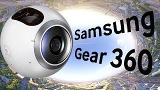 Видео-обзор камеры Samsung Gear 360