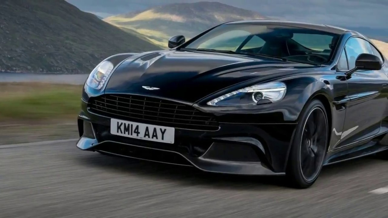 2017 Aston Martin Vanquish Zagato Volante V12 Top Speed Interior