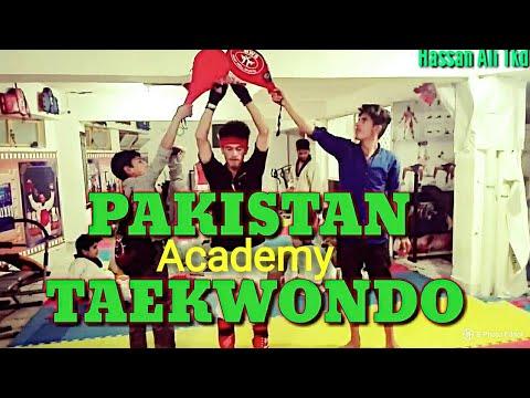 Pakistani Boy Best kicks in (Abbottabad club). how to taekwondo best kicks. hassan ali Tkd,