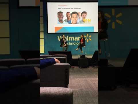 Dr. Rogers Speaks at Wal-Mart