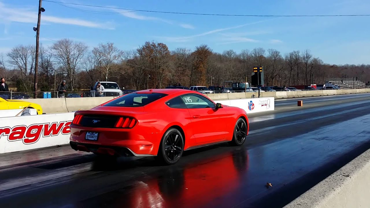 The 2015 Mustang Ecoboost Hits the High 12s with Intake and