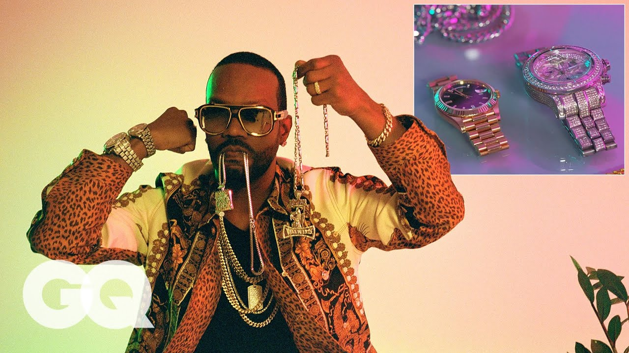 Juicy J Shows Off His Jay-Z Inspired Jewelry Collection | The Source