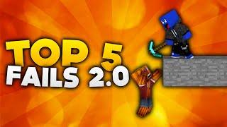 Minecraft - Top 5 Fails 2.0! | DieBuddiesZocken