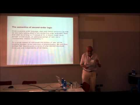"FilMat - Robert Black ""Modality, Abstract Structures and Second-Order Logic"""