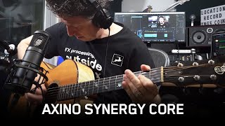 Axino Synergy Core | All-in-one USB Recording System | Product Overview