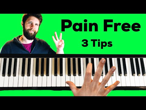 How To Play Big Chords That Hurt Your Hand On The Piano (3 Tips)