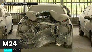 Фото «Бумажные» ДТП, пьяная автоледи, задержание банды автогонщиков. Московский патруль
