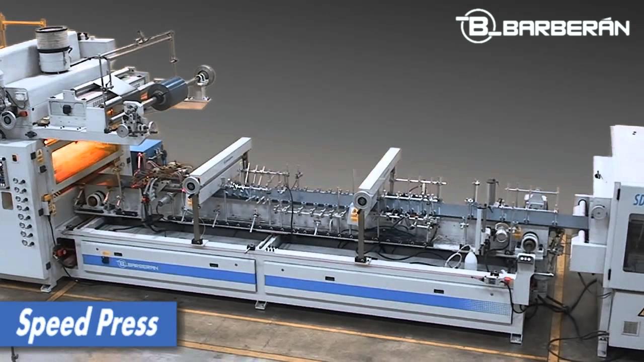 Barberan 009 Speed Press Laminator For High Gloss Foils