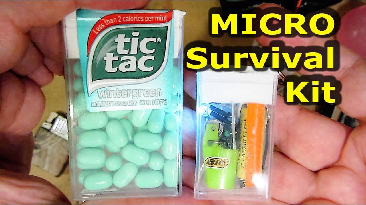 micro tic tac edc key chain survival kit youtube. Black Bedroom Furniture Sets. Home Design Ideas