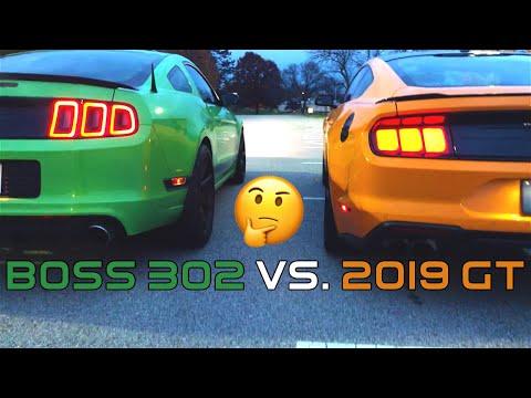 2019 Mustang GT Vs. Boss 302 *Shocking Results*