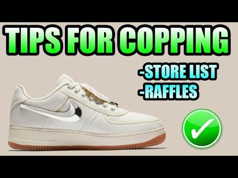 Tips For Copping The TRAVIS SCOTT AIR FORCE 1 SAIL !  42a70efa5
