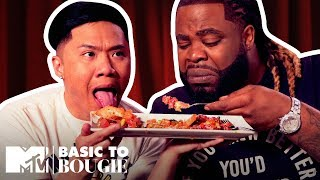 $4 Knishes & $40 Tartare | Basic to Bougie Season 3 | MTV