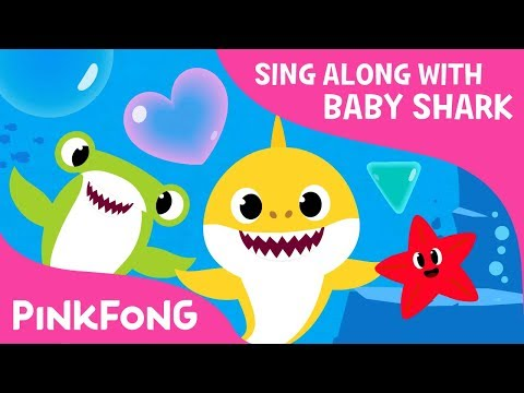 Shapes in the Sea | Sing Along with Baby Shark | Pinkfong Songs for Children