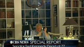 The Death Of Senator Ted Kennedy Announcement CBS News Special Report