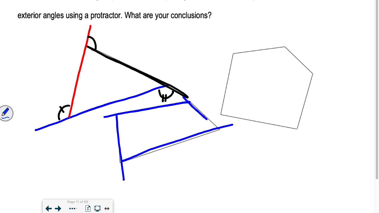 Section 6.1 Part 2 Geometry: Polygon Angle-Sum Theorems