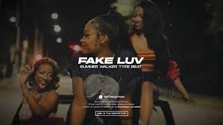 FAKE LUV - Summer Walker Type Beat (Instrumental Geo On The Track)
