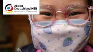 Corona-Nothilfe weltweit: Aktion Deutschland Hilft TV-Spot (30 Sek.)