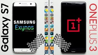 Galaxy S7 vs. OnePlus 3 Speed Test