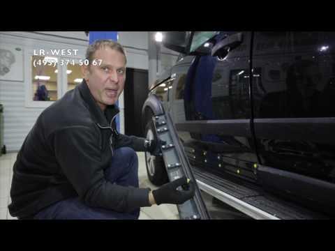 Накладка водительской двери  Ленд Ровер Дискавери 3, Дискавери 4 - типичная проблема.