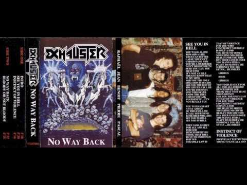 EXHAUSTER (france) ´´no way back´´ (demo 1992)