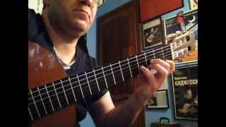 "CHRISTIAN SAGGESE - Procol Harum ""A salty dog"" (guitar version)"