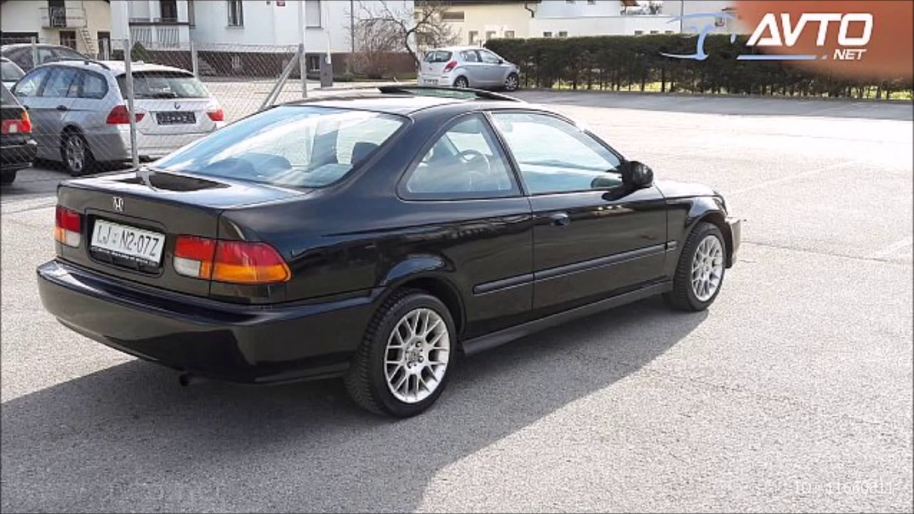 Honda Civic Coupe 1.6   6.gen 1996